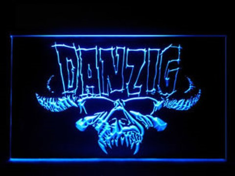 Danzig LED Neon Sign