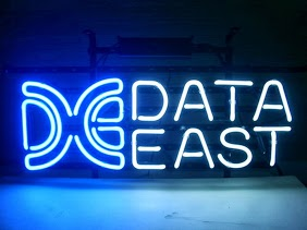 Data East Logo Classic Neon Light Sign 17 x 14