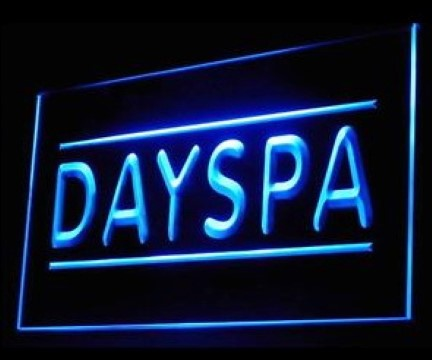 Day Spa Body Massage Relax Therapy Luxury Resort LED Neon Sign