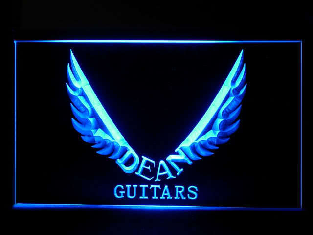 Dean Guitar Display Led Light Sign
