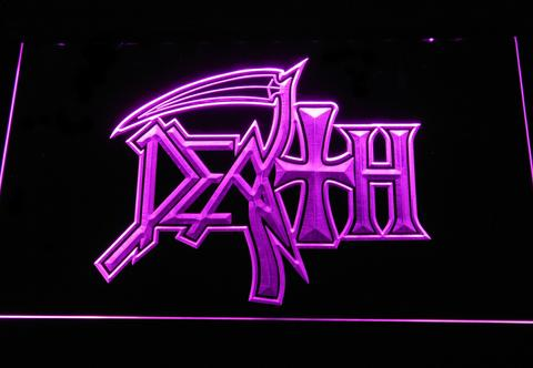 Death Logo LED Neon Sign