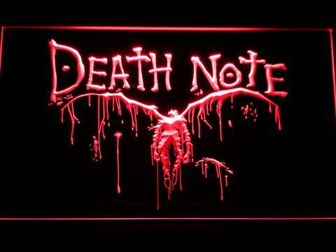 Death Note Ryuk LED Neon Sign
