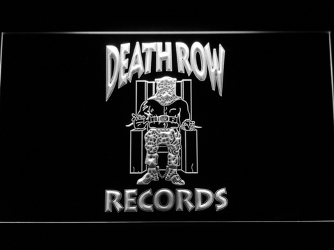 Death Row Records LED Neon Sign