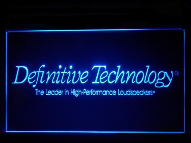 Definitive Technology LED Sign