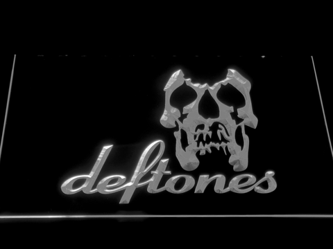 Deftones Skull LED Neon Sign