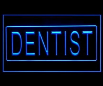 Dentist OPEN Clinic LED Neon Sign