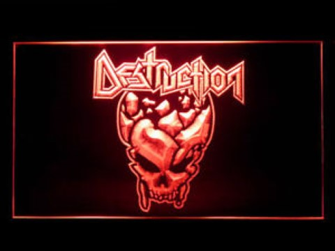 Destruction LED Neon Sign