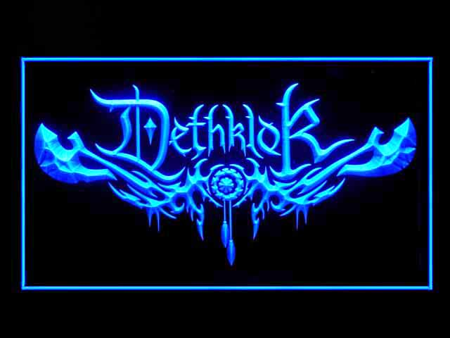 Dethklok Display Led Light Sign