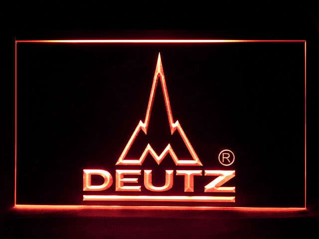 Deutz Tractor Service LED Sign