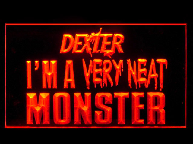 Dexter Morgan Neat Monster Neon Light Sign