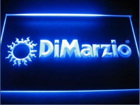 DiMarzio LED Neon Sign
