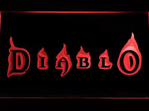 Diablo LED Neon Sign