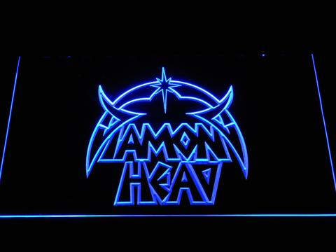 Diamond Head LED Neon Sign