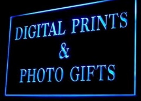 Digital Prints Photo Gifts LED Neon Sign