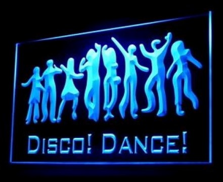 Disco Dance LED Neon Sign