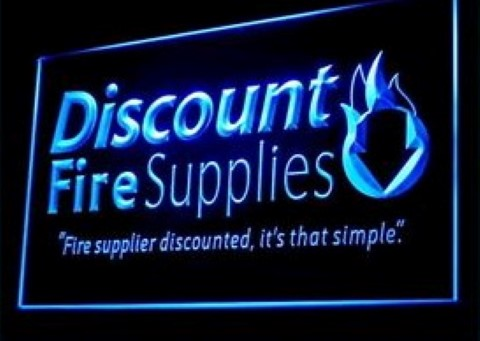 Discount Fire Supplies LED Neon Sign