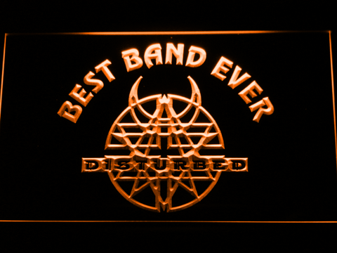 Disturbed Best Band Ever LED Neon Sign