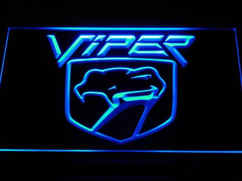 Dodge Viper LED Neon Sign