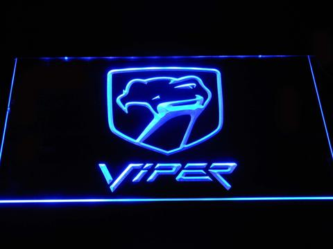 Dodge Viper Old Logo LED Neon Sign