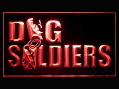 Dog Soldiers LED Neon Sign