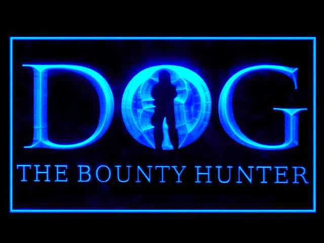 Dog The Bounty Hunter Neon Light Sign