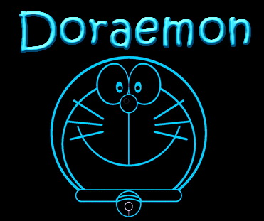 Doraemon The Cat From The Future LED Neon Sign