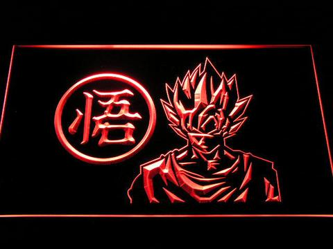 Dragon Ball Z GT Super Saiyan Son Goku LED Neon Sign