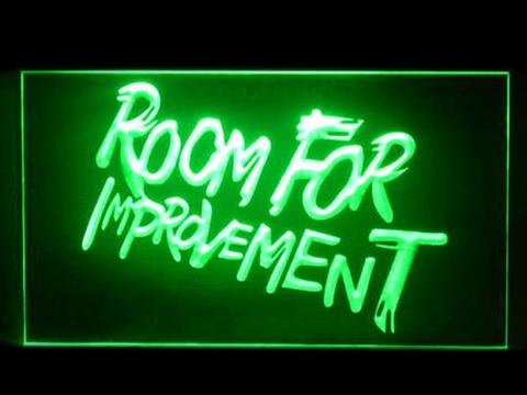 Drake Room For Improvement LED Neon Sign