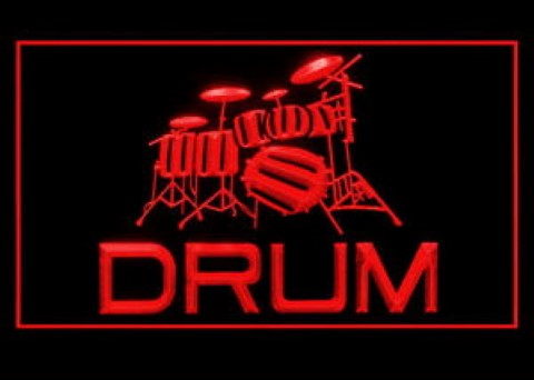 Drum Supplies LED Neon Sign