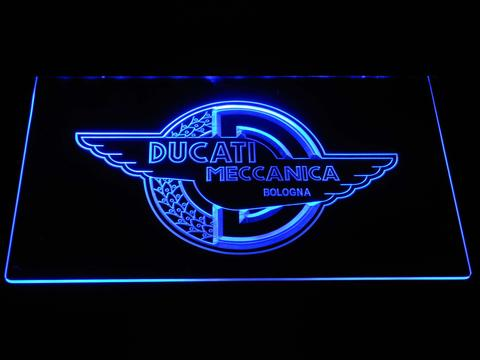 Ducati Meccanica LED Neon Sign