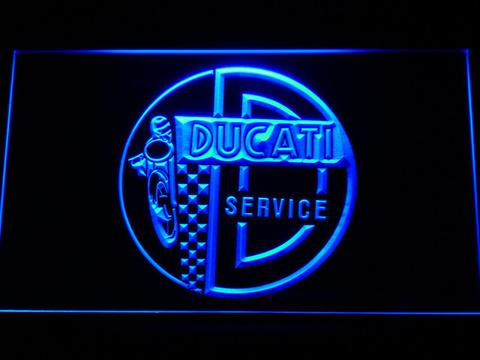 Ducati Service Center LED Neon Sign