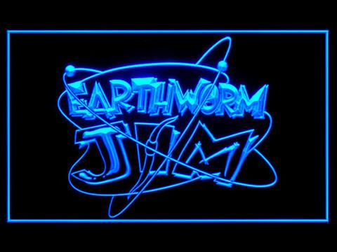 Earthworm Jim LED Neon Sign