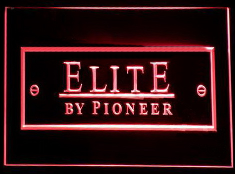 Elite by Pioneer LED Neon Sign