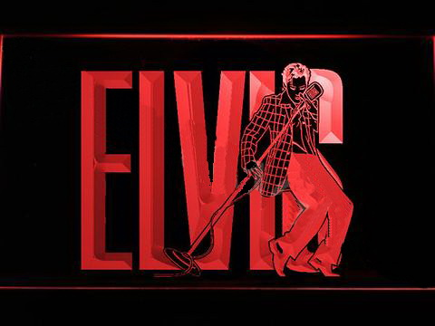 Elvis Presley 2 LED Neon Sign