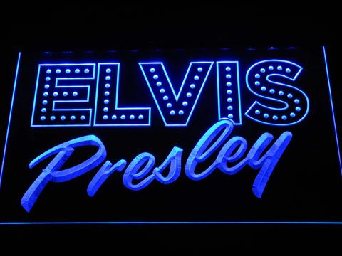 Elvis Presley Old School LED Neon Sign