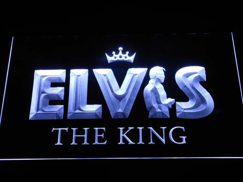 Elvis Presley The King LED Neon Sign