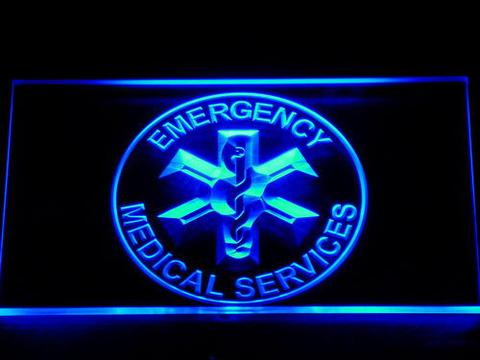 Emergency Medical Services LED Neon Sign
