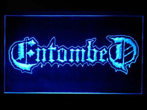 Entombed LED Neon Sign