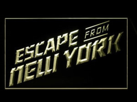 Escape From New York LED Neon Sign