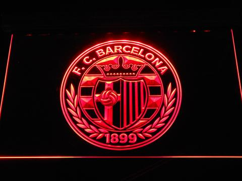 Fc Barcelona Shield Crest Led Neon Sign Fc Barcelona Shield Crest Led Ne 49 95 Shacksign Com Custom Led Neon Light Signs