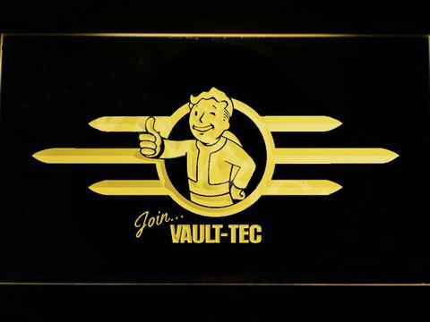Fallout Vault-Tec LED Neon Sign