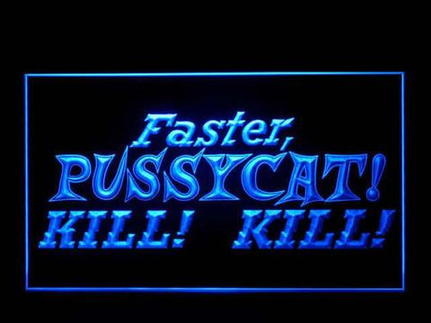Faster Pussycat LED Neon Sign