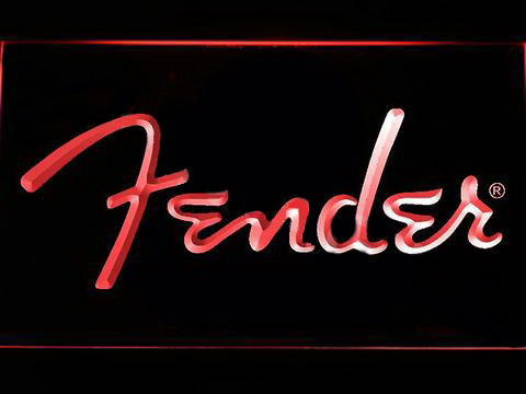 Fender 2 LED Neon Sign
