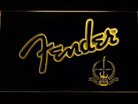 Fender 3 LED Neon Sign