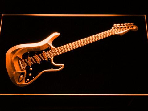 Fender Stratocaster LED Neon Sign