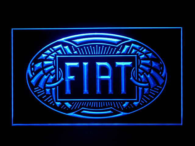 Fiat LED Light Sign