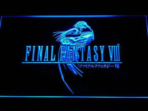 Final Fantasy VIII LED Neon Sign