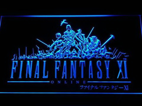 Final Fantasy XI LED Neon Sign