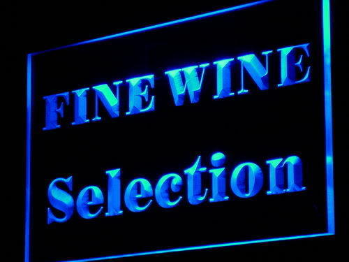 Fine Wine Selection LED Sign