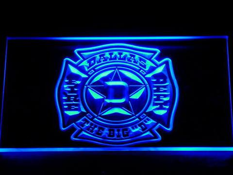 Fire Department Dallas LED Neon Sign
